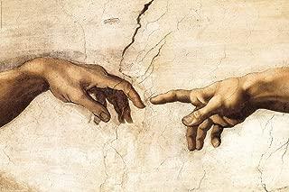 michelangelo adam hands