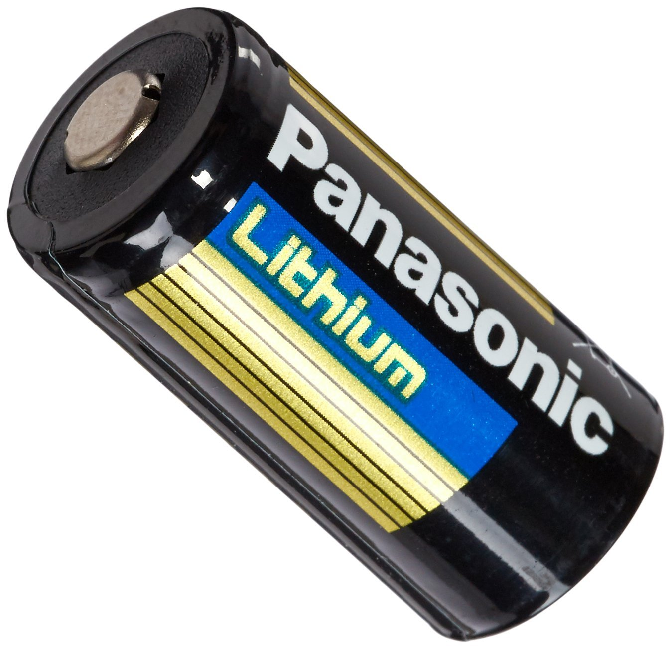 Panasonic CR123A 12PK Lithium Battery Diameter