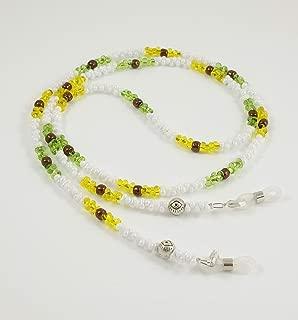 Brillenband//Brillenkette aus Edelsteinen Tigerauge BE-1094 Handmade