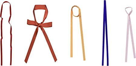 Uainhrt Long 160cm Multifunction Long Tie Scarf, Silk Scarves Bag Band Belt Neckerchief for Women Lady Girl