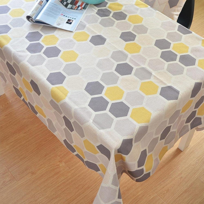 TBCZHB Einfaches kreatives Tuch Tischtuch Haushalt staubdicht Tischtuch, 002