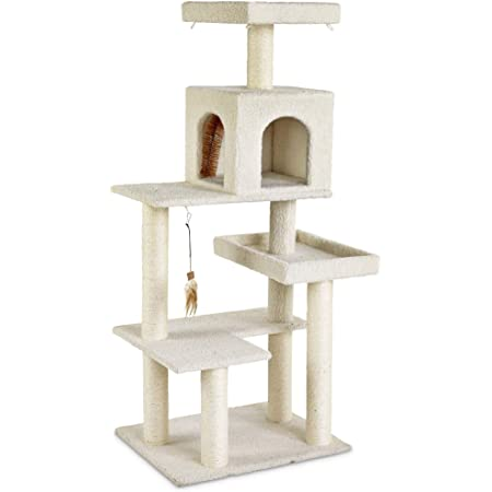 You Me 5 Level Cat Tree 54 H 21 5 In Kitchen Dining