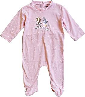 Baby Mädchen Snoopy Spot Overall Schlafanzug Baumwolle Strampler Rosa Größen Von 1 Sich 9 Monate