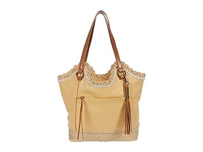 The Sak Sierra Leather Shopper (Buttercup Espadrille) Handbags