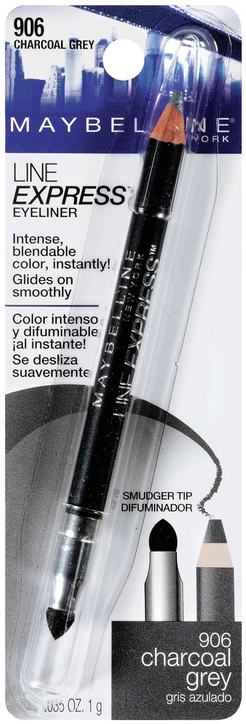 Amazon Com Maybelline New York Line Express Eyeliner Charcoal Grey 906 0 04 Ounce Health Personal Care