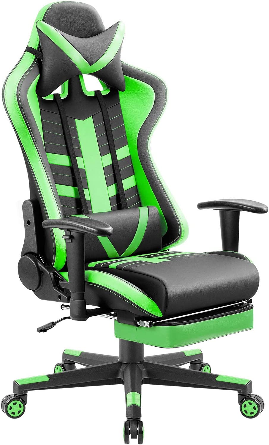 Homall Footrest Computer Gaming Chair Racing Style