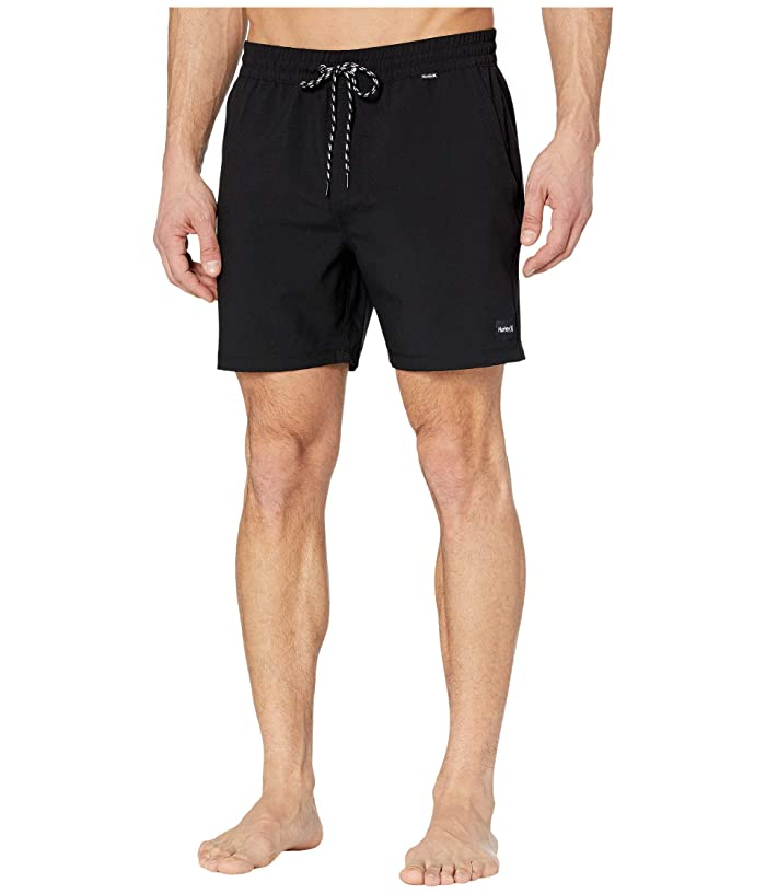 Hurley  17 One Only Volley Boardshorts (Black) Mens Swimwear