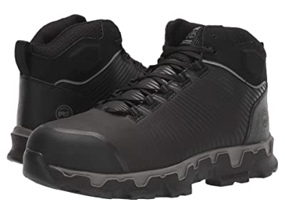 Timberland PRO Powertrain Sport Mid Alloy Safety Toe EH (Black) Men