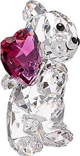 Swarovski Kris Bear - Take My Heart Pink One Size