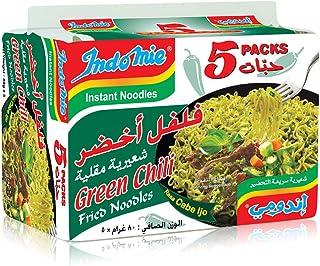 Indomie Pillow Pack - Green Chili Flv - Pack of 5