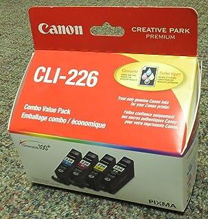 Genuine Canon CLI-226 4-Color Black/Cyan/Magenta/Yellow - Bulk Packaging