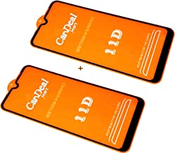 candeal mart tempered glass for oppo f9 pro edge to edge temper glass oppo f9 pro screen guard 5d 6d 11d 99d tempered glass pack of 2 edge to edge full screen coverage transparent