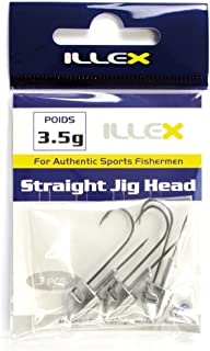 8-5g Jighaken Illex Straight Jig Head Gr