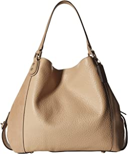 COACH Mixed Leather Edie 42