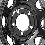 """15/"""" Vision 85 Soft 8 Gloss Black Steel Wheel 15x8 5x5.5-19mm 5 Lug 85H5885NS"""