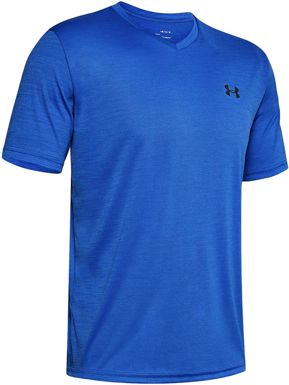 Under Armour Men's UA Tech V-Neck Short Sleeve T-Shirt at  Men's Clothing store