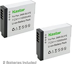 Kastar Battery (2-Pack) for Panasonic DMW-BLH7 DMW-BLH7E DMW-BLH7PP work with Panasonic Lumix DMC-GM1 DMC-GM1K DMC-GM5 DMC-GF7 Cameras