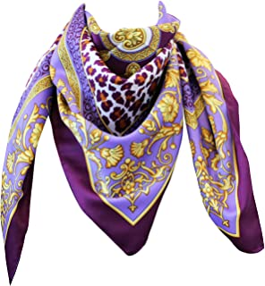 tessago foulard dis 62105 var lilla mis. Cm 90 x 90 pl 100% made in italy