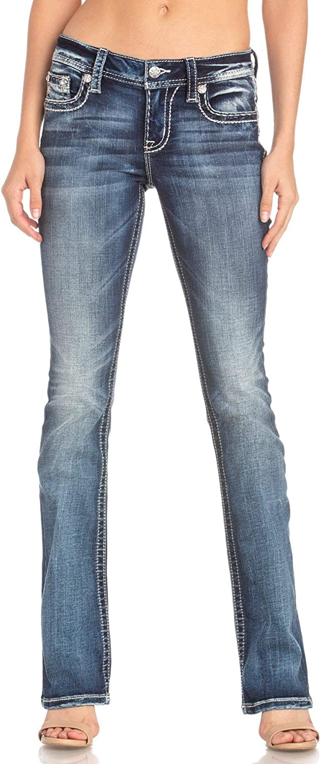 Miss New sales Me Sure Thing Slim New color Bootcut Jeans