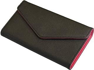 CRESTIA 通帳ケース 磁気防止 大容量 通帳入れ 革 レザー レディース RFID パスポートケース マルチケース