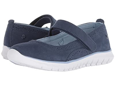 Hush Puppies Kids Flote Tricia Mary Jane (Little Kid/Big Kid) (Navy) Girls Shoes