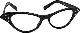 [ヒップホップ50sショップ]Hip Hop 50s Shop Cateye Glasses Child/Youth, Black [並行輸入品]