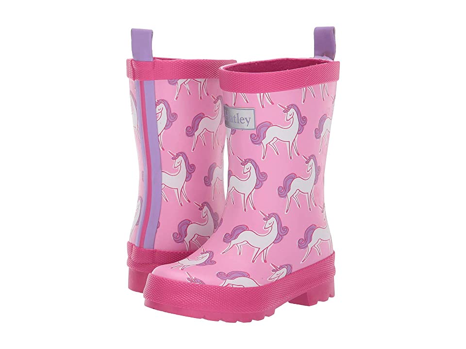 Hatley Kids Limited Edition Rain Boots (Toddler/Little Kid) (Unicorn Doodles) Girls Shoes