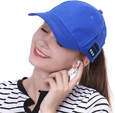 HD Stereo Sound Kopfh/örer Lautsprecher Freisprecheinrichtung mit Mikrofon f/ür Bluetooth-Ger/äte Tak Cool Abnehmbare Bluetooth Musik Baumwolle Baseball Cap Sun Hat Schirmm/ütze