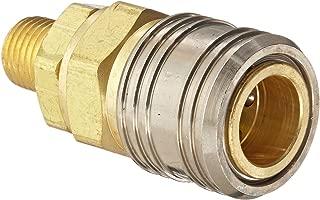 1//4-18 NPTF Female Socket 1//4 Port Size 3//8 Body Eaton Hansen LNFT300 Brass Hydraulic Fitting