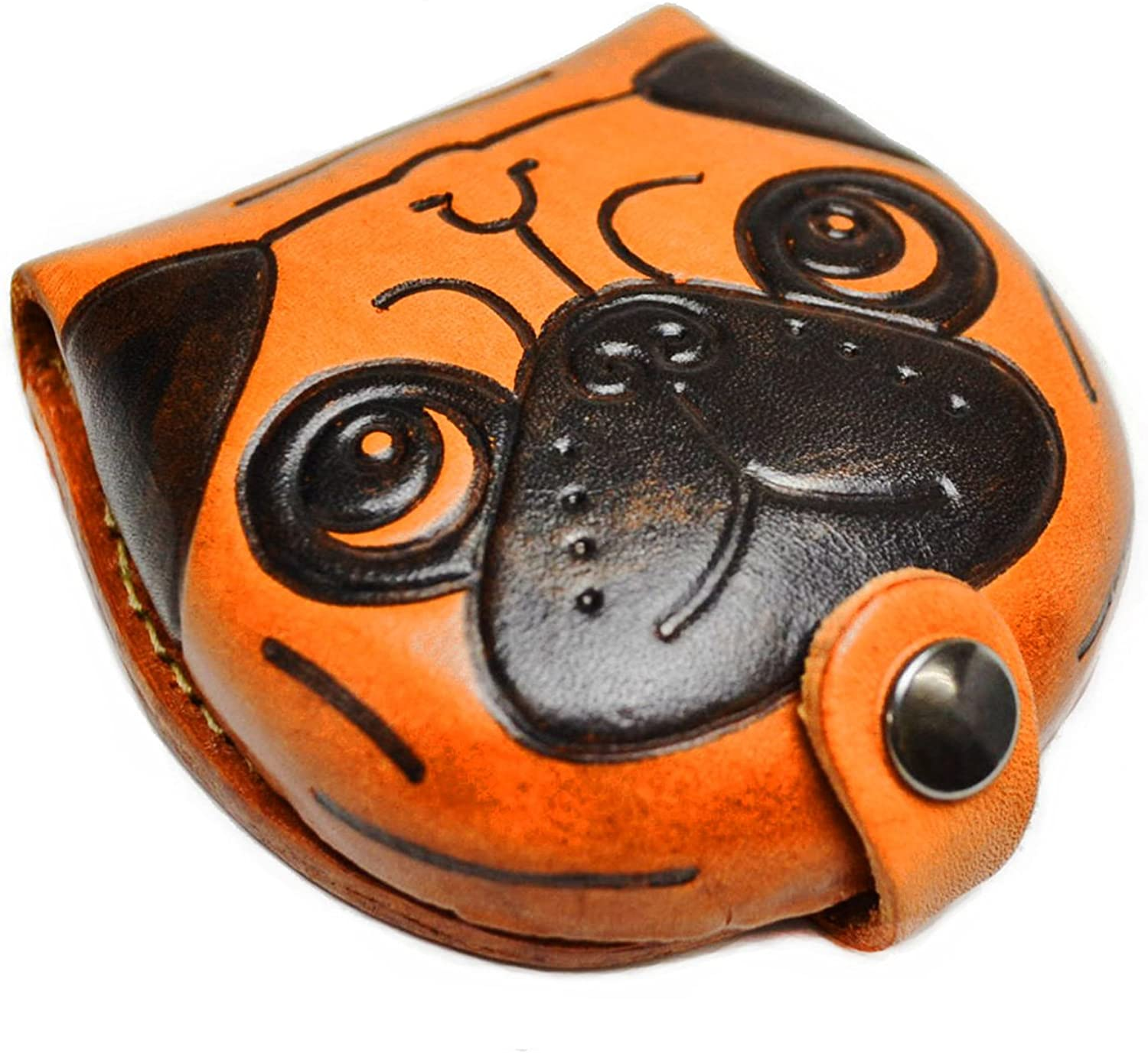 [VANCA] [product fatto in Japan, nuovo] real leather coin case pug (japan import)