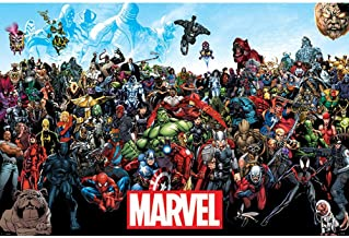 Marvel Universe Comic Poster (One Size) (Multicoloured)