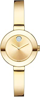 Movado Women's BOLD Bangles Yellow Gold Watch with a Flat...