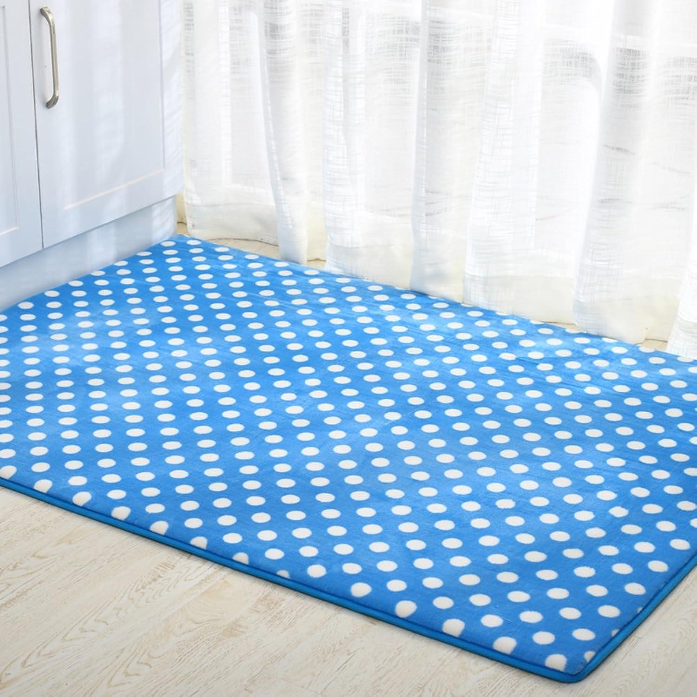 Coral velvet padded mat Doormat Door mats [hall] Door mat Entrance door mats-F 80x120cm(31x47inch)