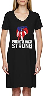 Puerto Rico Strong - Country Proud Pride Ladies Dress
