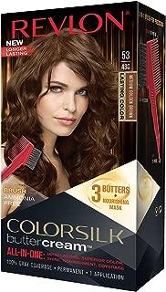 Revlon ColorSilk Buttercream Hair Dye, Medium Golden Brown