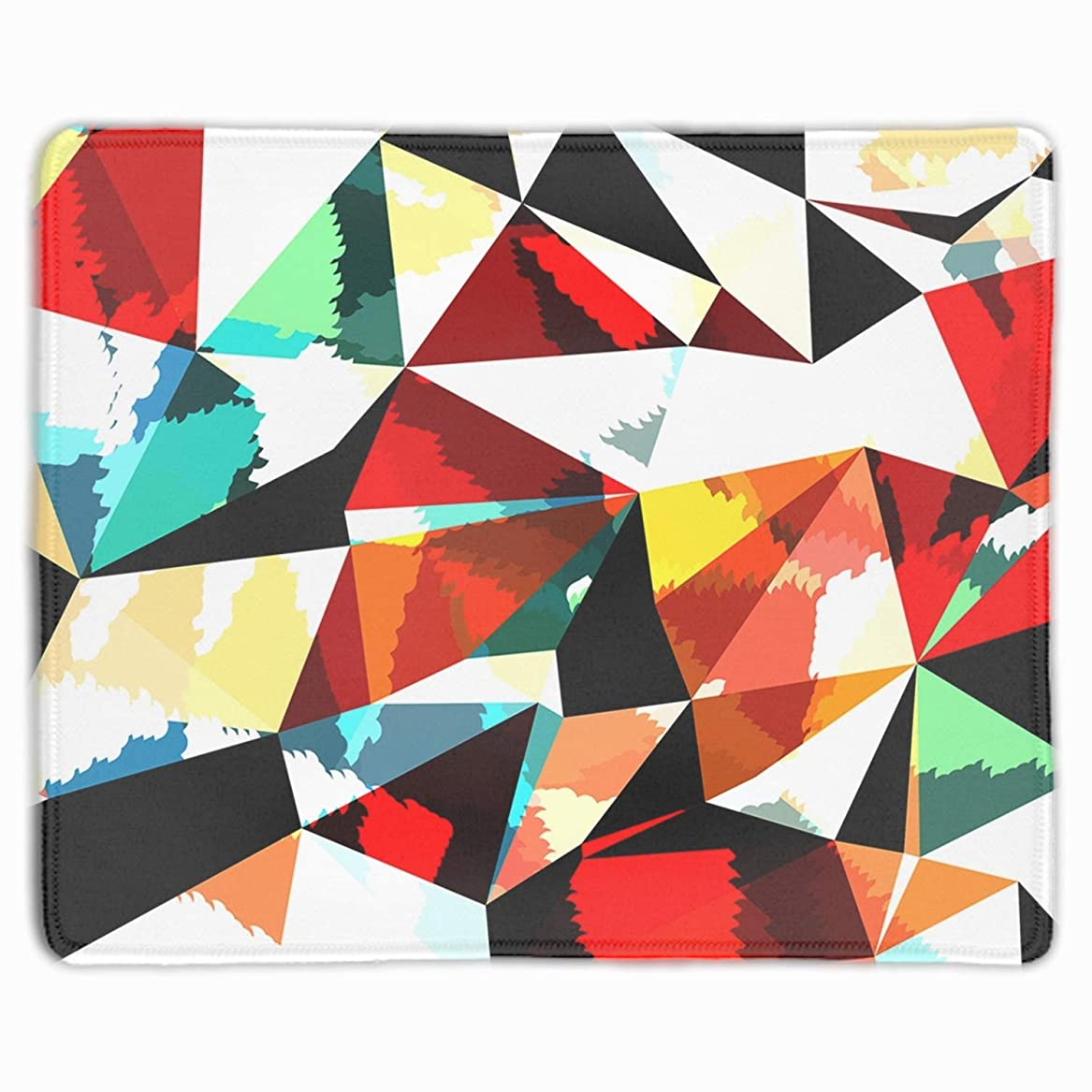 精巧なハーネス近傍ゲーミング向け 大型マウスパッド デスクマット 防水材質 水で洗えるマウスパッド 幾何学模様
