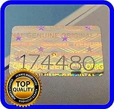hologram authentic stickers