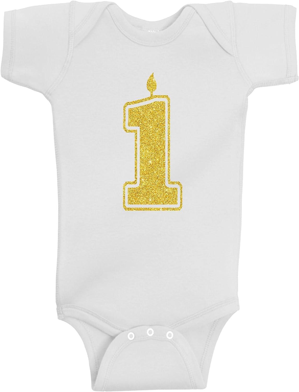 Baby Boy Girl First Birthday 1st Bodysuits Shirts Bombing free shipping Surprise price Handmade One