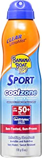 Banana Boat Cool Zone Sunscreen Lotion Spray SPF 50 170 Gm
