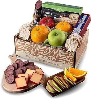 GourmetGiftBaskets.com Fruit Basket - Gourmet Gift Baskets Prime - Food Gift Baskets Prime - Fruit Baskets – Gift Baskets - Birthday, Christmas, Sympathy, Men, Women, Family