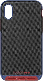 tech21 Evo Luxe Active Edition Custodia Protettiva per Apple iPhone X/iPhone XS - Nero Attivo