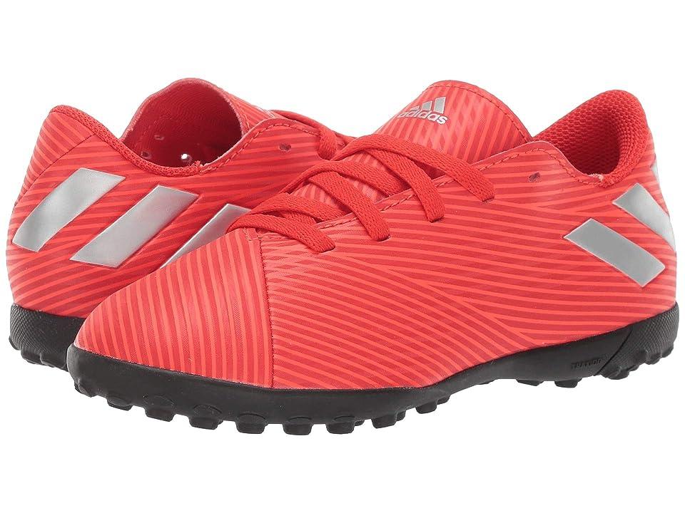 adidas Kids Nemeziz 19.4 TF Soccer (Little Kid/Big Kid) (Red/Silver/Solar Red) Kid