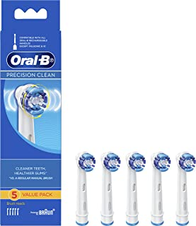 Oral-B Precision Clean Electric Toothbrush Heads Refill, 5ct
