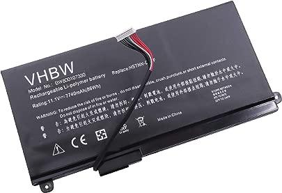 vhbw Li-Polymer Akku 7740mAh  11 1V  f r Notebook Laptop Hewlett Packard HP Envy 17T-3000 wie 657240-271  HSTNN-DB3F  HSTNN-IB3F  TPN-I103  VT06XL