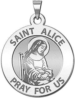 saint alice medal