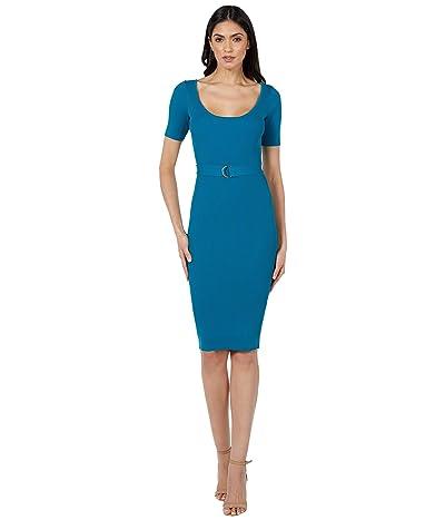Bebe Ribbed Midi Dress