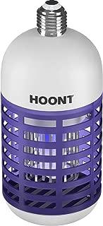 Hoont Bug Zapper Light Bulb Traps Mosquitoes Flies Indoor Outdoor Fits 110V E26 E27 Socket