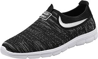 Socviis Mens Casual Athletic Sneakers Comfort Running Shoes Slip On Shoe for Men Walking Working Tennis Aerobics Gym