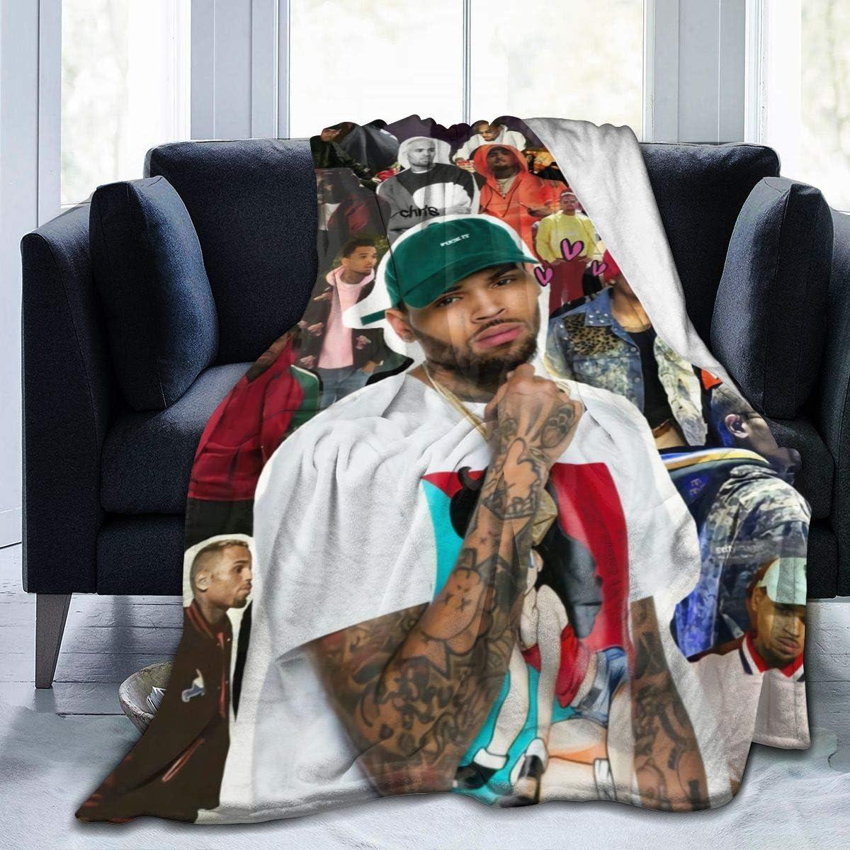 Chris Brown Blanket Flannel Fleece Ranking TOP16 Throw Genuine Plush Warm Micr