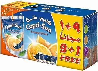 Capri Sun Orange (9+1)Promo - Pack of 10 x 200 ml